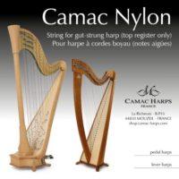 Camac Nylon for gut-strung harp (1st octave only)